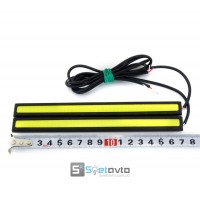 DRL_LED COB_black PLUS_IP65 + Led Sever_12V_(170x18mm)_C-P.(91113) (комп.)