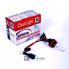 Лампа ClearLight H3 6000K 35w xenon_ (шт.)